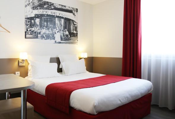 Réserver chambre hôtel Le Quarré Bruguières